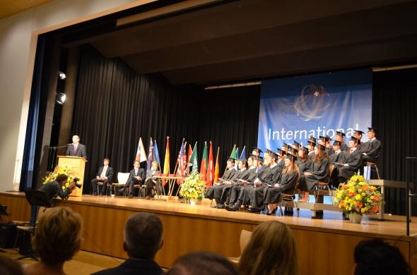 The ISBerne 2013 Graduation/ Mattenhof-Gümligen, May 31